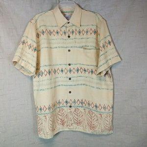 The Territory Ahead m Navajo Print Shirt Linen